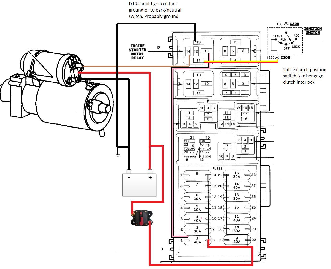 tj 5.3 lm7 swap - ignition wiring   jeep wrangler forum  jeep wrangler forum